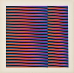 Sans titre by Carlos Cruz-Diez✖️Fosterginger.Pinterest.Com✖️No Pin Limits✖️More Pins Like This One At FOSTERGINGER @ Pinterest