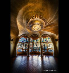 Casa Batlló Nr. 1 - 1st Floor by LaTietze, via Flickr