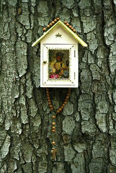 Wayside Shrine by Marta Grabska-Press