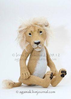 Валяние. Авторские игрушки Ирины Поляковой - Царь, просто царь