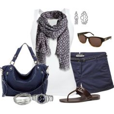 ≡ casual summer outfit