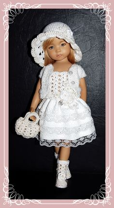 """Outfit for EFFNER LITTLE DARLING DOLL 13 """" + Boots"""