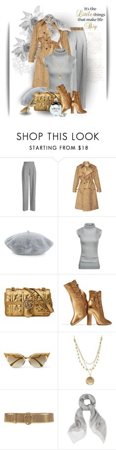 A fashion look from January 2018 featuring sleeveless tops, Maison Margiela and Victoria Beckham. Fendi, Gucci, Roberto Cavalli, Little Things, Victoria Beckham, Alexander Mcqueen, Kate Spade, Fashion Sets, Romwe