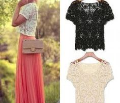 Spring Summer Women Blouses Hollow Out Casual Lace Shirts Floral Crochet White Lace Tops