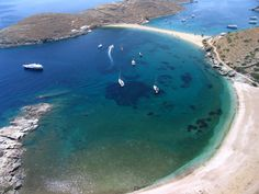 Kytnos,a Greek island fo aegean sea with amazing beaches like this !