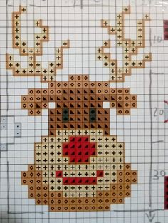 Great Snap Shots Cross Stitch patrones Style Given that For a nice and crossstitching appears since I'm a female I personally at times think that everyo Santa Cross Stitch, Mini Cross Stitch, Cross Stitching, Cross Stitch Embroidery, Embroidery Patterns, Loom Patterns, Hand Embroidery, Cross Stitch Christmas Ornaments, Christmas Embroidery