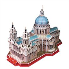 LANDMARK 3D PUZZLE- ST. PAUL'S CATHEDRAL | 3D Puzzle Model Kits | The Happy Puzzle Company