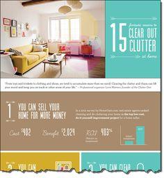 Warum Sie Ihr Zuhause aufräumen sollten