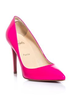 Christian #Louboutin Pink LOVE!!!  I will have to have these...