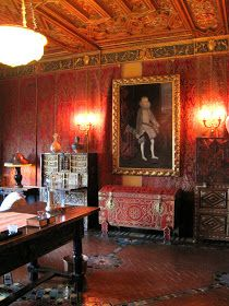 sitting room at Hearst Castle filled with various Spanish antiques San Simeon California, California Dreamin', Pacific Coast, East Coast, Weapon Storage, San Luis Obispo County, Highway 1, Ca Usa, Historical Landmarks