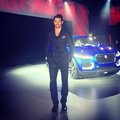 Instagram @Jaguar | @davidgandy_official with the #CX17 concept at tonight's reveal event in Frankfurt. #JaguarFuture