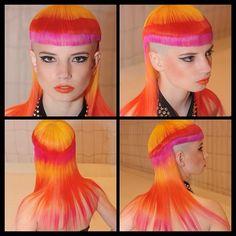 Sideburns, Extreme Hair, Long Cut, Hot Hair Styles, Hair Color And Cut, Wild Hair, Mullets, Short Hair Cuts, Bangs