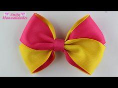 Ideas Diy Cuadernos Manualidades Paso A Paso For 2019 Handmade Hair Bows, Diy Hair Bows, Diy Bow, Ribbon Hair, Ribbon Bows, Hair Bow Tutorial, Boutique Hair Bows, Christmas Bows, Diy Hair Accessories