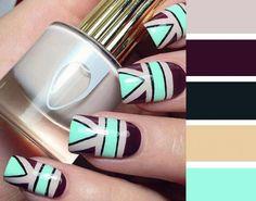 Combinaciones de colores que puedes usar en tus uñas para lucir una manicure perfecta #uñas #anicura #magazinefeed