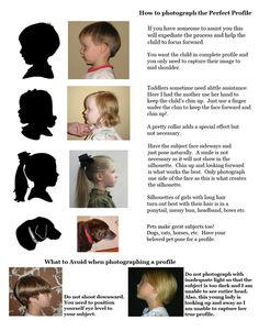 How to Photograph a Silhouette Profile