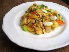 Spaghetti Squash Chicken Pad Thai - Just the Tip
