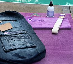 Win an Aurorae Synergy Yoga Mat     *i have one and it's perfect for hot yoga*