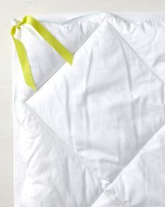 Great tip for keeping a duvet cover in place, from Martha Stewart. We need this!