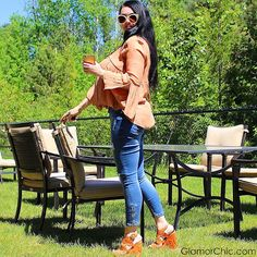 #ootd suggestion GlamorChic: MY #NEW #TRENDY #SUMMER-COLOUR, THE ORANGE Orange Color, Colour, Summer Colors, New Trends, Fashion Photography, Ootd, Tote Bag, Outfits, Summer Colours