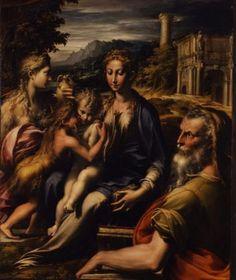 Parmigianino (Francesco Mazzola), Madonna di San Zaccaria - Firenze, Galleria degli Uffizi © Ministero dei Beni e le Attività Culturali