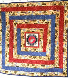 Military Quilt by GigisQuiltDesigns on Etsy