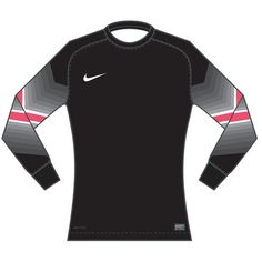 Nike Long Sleeve Goleiro Jersey - Black