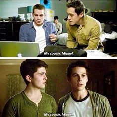"""#TeenWolf """"My Cousin Miguel"""" I LOVED how they reference back to season one for this!!!"""