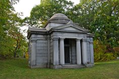 The DuBois Mausoleum, which as of late had had several new tenants enter it-to never leave again. Oakwood Cemetery, Throughout The World, Neoclassical, Small World, Gazebo, Image Search, Outdoor Structures, Mara Dyer, Graveyards