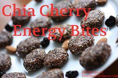 Chia Cherry Energy Bites .. Amazing tasty little bits of healthy snacks. Try it, super easy #Healthy #Chia