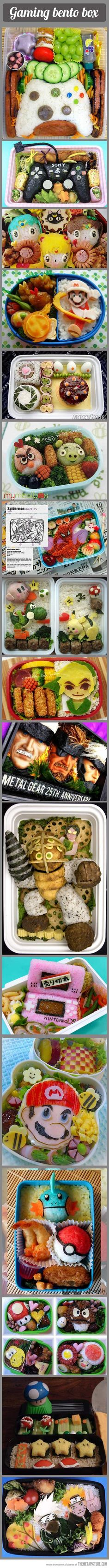 Gaming lunch box… here are some lunch box ideas for you