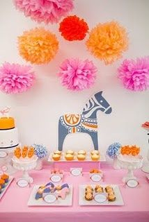Blog My Little Party - Ideas e Inspiración para Fiestas: Inspírate con Pompones de Papel
