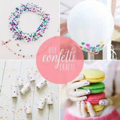 10 DIY Confetti Crafts