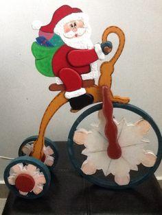 Papa noel triciclo