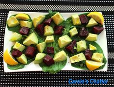 Carole's Chatter: Beetroot Avocado & Bok Choy Salad Bok Choy Salad, My Plate, Baby Spinach, Beetroot, Beets, Stir Fry, Quotations, Fries, Avocado