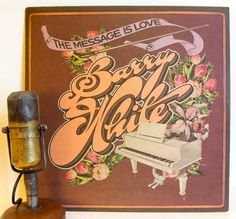"ON SALE Barry White Vinyl Record Album Vintage 1970s Soul Funk Rhythm & Blues Funk Pop Dance Love Songs Slow Jams  ""The Message Is Love"" (19"