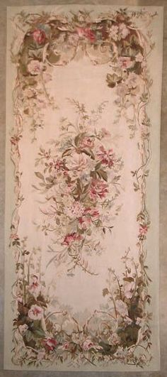Reproduction Aubusson Tapestry - Inessa Stewart's Antiques