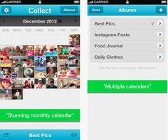 Daily iPhone App: Collect: Photo a Day lets you remember each day with a photo