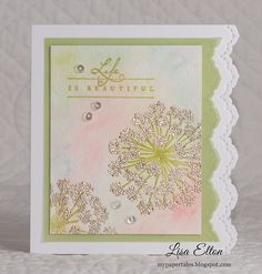 My Paper Tales: PP #241 & VV #14 ~ Life is Beautiful!