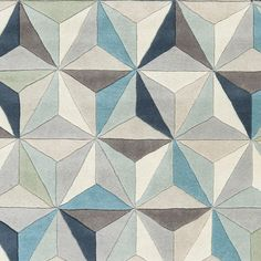 Hand-Tufted Roselyn Geometric Wool Rug (5' x 8') - Overstock™ Shopping - Great Deals on 5x8 - 6x9 Rugs
