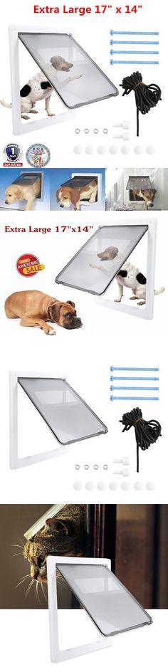 Doors And Flaps 116379 Ideal Pet Xl Ruff Weather Dog Door Buy It