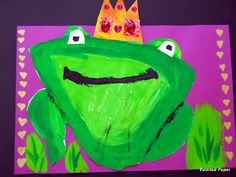 PAINTED PAPER: The Frog Prince
