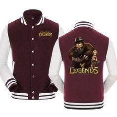 Challenger jacket league of legends