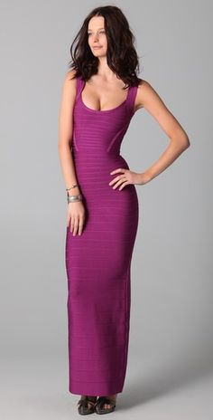 I wish I was tall enough to wear this! -- Herve Leger Signature Essentials Gown