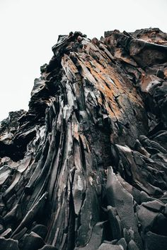 Beautiful rock formation at an Icelandic beach [3648x5472] [OC] : EarthPorn Landscape Edging, Abstract Landscape, Landscape Paintings, Acrylic Paintings, Landscape Photography Tips, Landscape Photographers, Nature Photography, Formation Photo, Image Facebook