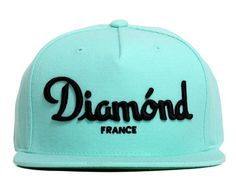 Champagne Snapback Cap by DIAMOND SUPPLY CO.