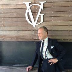 Gianluca Vacchi by his GV-logo