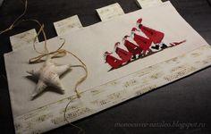 "дизайн вышивки из книги Acufactum ""WeihnachtsGlück"""