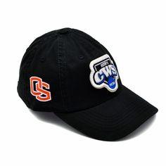 OREGON STATE BEAVERS NCAA 2013 CWS 'THE CREW' ADJUSTABLE BASEBALL CAP - BLACK