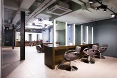 Gina Conway Lifestyle Salon & Spa - Wimbledon. UK by Reis Design, via Behance