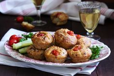 Συνταγή για τυροπιτάκια σαν μικρά κεϊκάκια -Πανεύκολο, σε ένα μπολ όλα τα υλικά